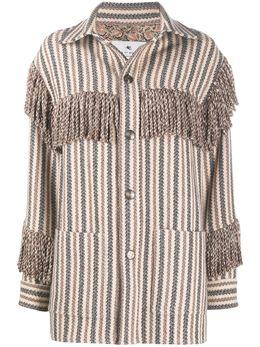 Etro куртка-рубашка с длинными рукавами 187550492