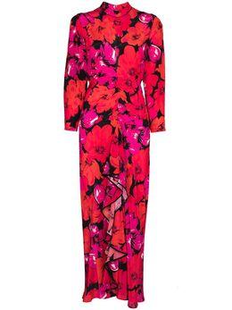 Rixo платье Dani с цветочным принтом RIX10633420977
