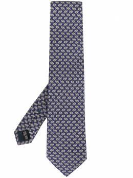 Salvatore Ferragamo галстук с заостренным концом 732397