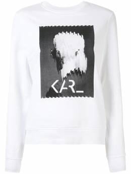 Karl Lagerfeld толстовка с принтом Karl Legend 205W1812100