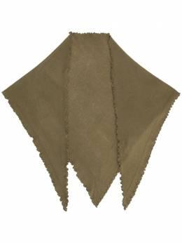 Allude треугольный кашемировый шарф 20511240
