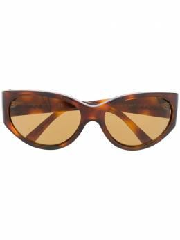 Versace Eyewear солнцезащитные очки черепаховой расцветки VE4386