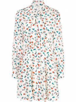 Jason Wu платье-рубашка мини с цветочным принтом JP2012031