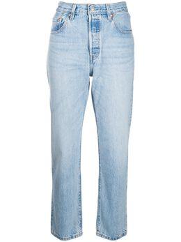 Levi's укороченные джинсы бойфренды с завышенной талией 36200
