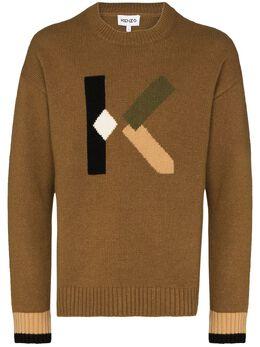 Kenzo свитер с логотипом FA65PU5353LC