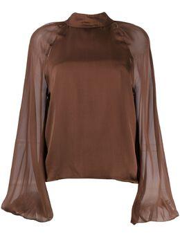 Federica Tosi блузка с рукавами колокол FTI20BL0630CH0006