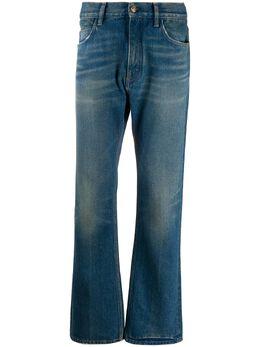 Alanui прямые джинсы с эффектом потертости LMYA006F20DEN0014444