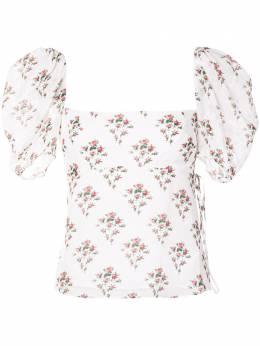 Brock Collection блузка с цветочным принтом BRPR6082F
