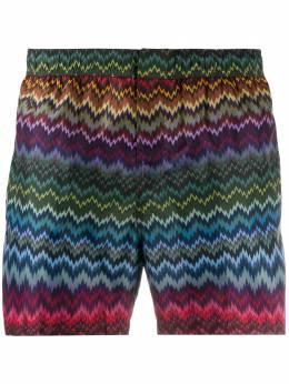 Missoni Mare плавки-шорты с узором зигзаг MUP00005BW00AF