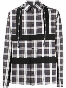 Craig Green клетчатая рубашка с капюшоном CWOSHI01