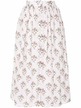 Brock Collection юбка с цветочным принтом BRPR3581F
