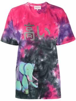 Natasha Zinko футболка с принтом тай-дай PF2050833