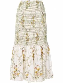 Brock Collection юбка с цветочным принтом BRPR3504R