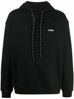 Ader Error худи с вышитым логотипом BTAFWHD05BK