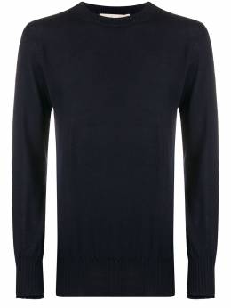 Maison Flaneur свитер с круглым вырезом 20WMUSW054FE017
