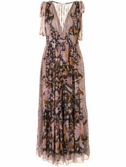 Ulla Johnson платье Annalise с цветочным принтом PF200131