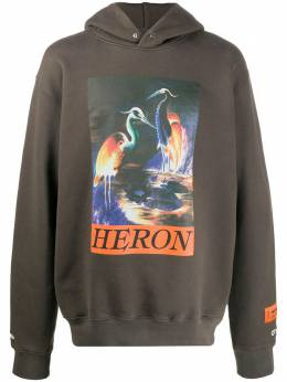 Heron Preston худи с графичным принтом HMBB011F20JER0026020