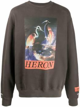 Heron Preston толстовка с графичным принтом HMBA014F20JER0056020