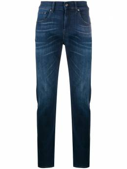 7 For All Mankind узкие джинсы средней посадки JSMXA460BR