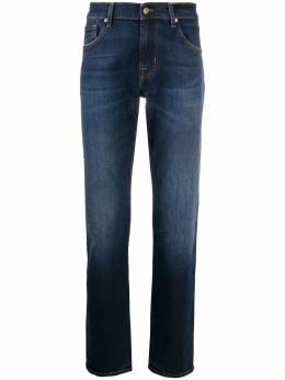 7 For All Mankind узкие джинсы средней посадки JSMSL390PE