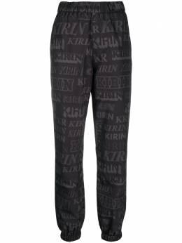 Kirin спортивные брюки прямого кроя с логотипом KWVI001F20FAB001