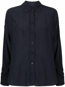 Zadig & Voltaire декорированная рубашка Tamara WJCP0503F