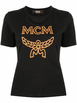 MCM футболка с логотипом MFTASMM03B2