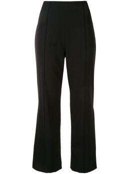 Jonathan Simkhai укороченные расклешенные брюки с кружевом 4204030U