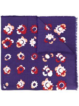 Fendi шарф с принтом Flowerland FXT0698MV