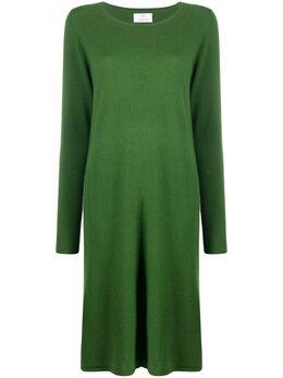 Allude платье миди с длинными рукавами 20517015