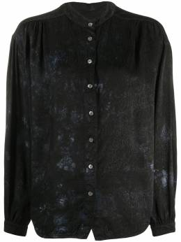 Raquel Allegra рубашка с принтом тай-дай Y038322TD