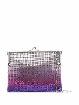 Paco Rabanne сумка на плечо с пайетками 20ASS0136MET137