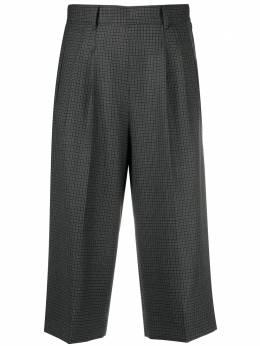 Maison Margiela клетчатые шорты широкого кроя S51MU0057S53200