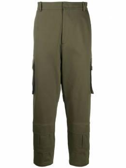 Les Hommes брюки карго кроя слим LJP122355U