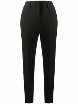 Blumarine строгие брюки кроя слим 23605