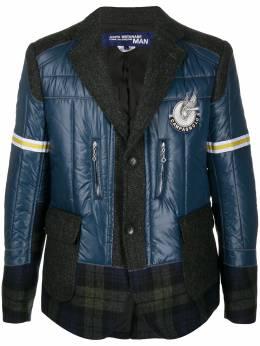 Junya Watanabe Man пиджак со вставками WFJ009