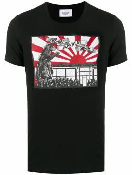 Dondup футболка с графичным принтом US221JS0125ZH5DU