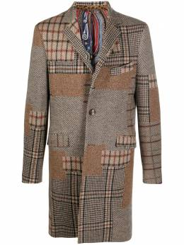 Etro однобортное пальто 1185A0193