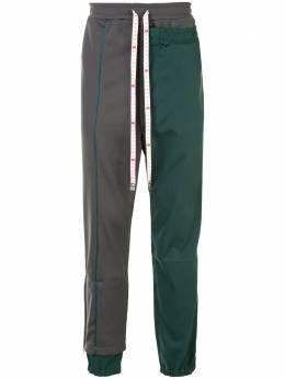 Maison Mihara Yasuhiro двухслойные брюки A05PT563