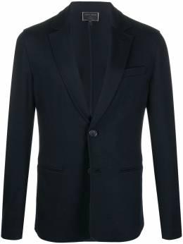 Giorgio Armani однобортный пиджак узкого кроя 8NSG51SJKEZ