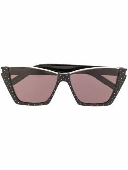 Saint Laurent Eyewear солнцезащитные очки в квадратной оправе 635959Y9922
