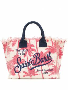 Mc2 Saint Barth парусиновая сумка-тоут Vanity VANITY