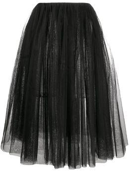 Alchemy юбка А-силуэта из тюля LIA160