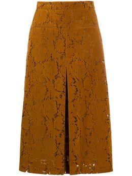 Rejina Pyo юбка А-силуэта с цветочным кружевом D166
