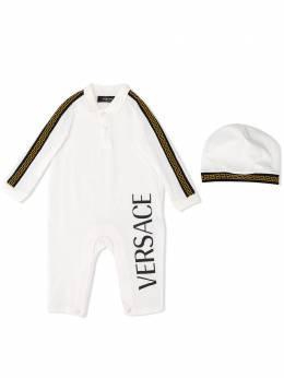 Young Versace комплект для новорожденного с логотипом YE000186YA00019