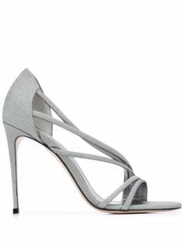Le Silla туфли с открытым носком и перекрестными ремешками 8537Q100R1PPFES