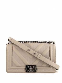 Chanel Pre-Owned сумка на плечо Boy 363843
