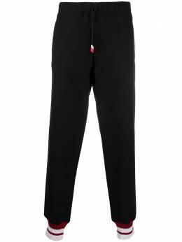 Peuterey спортивные брюки с эластичными манжетами PEU381499012003