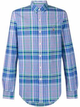 Polo Ralph Lauren клетчатая рубашка с вышитым логотипом 710804255005