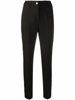 Blumarine брюки кроя слим с завышенной талией 23605